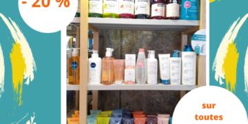 – 20 % sur nos gammes de savon en stock